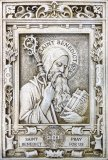 St Benedict Garden Plaque Indoor/Outdoor