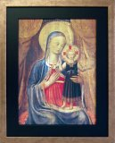 Madonna and Child Iconic Framed Picture