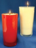 3 Days of Darkness 51% Beeswax Candles