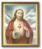 Sacred Heart 8x10 Framed Picture