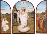 Resurrection of Christ Icon Triptych