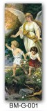 Guardian Angel with Children Bookmark