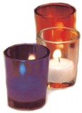 10 & 15 Hour Votive Glasses