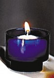 4Hr Tealight - Blue - Box of 2 Gross