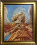 Angel with Instrument Framed Picture