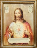 Consecration to the Sacred Heart Frame Picture