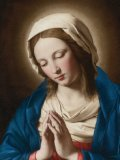 Blank Blessed Virgin Greeting Card