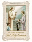 For a Special Nephew on his First Holy Communion - Greeting Card