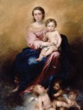 Madonna of the Rosary - Mass Card for the Living