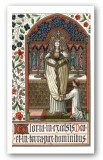 Anima Christi Prayer Holy Card Laminated