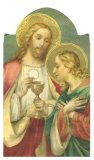 Prayer to the Blessed Virgin Before Communion - Laminated Cards