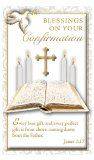 Blessings on Your Confirmation - Paper Holy Cards