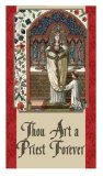 Thou Art a Priest Forever - Laminated Holy Cards