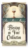 Blessings on Your Ordination Laminated Holy Card