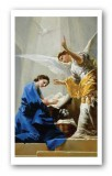 The Angelus Prayer Holy Card Laminated