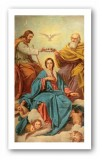 Prayer for the Coronation Holy Card Laminated