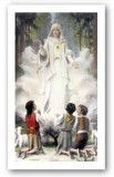 Indulgence for Carrying the Rosary Holy Card Laminated