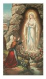 Lady of Lourdes - Laminated Cards