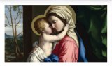 Prayer to Jesus Living in Mary - Laminated Cards