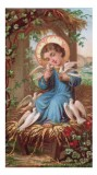 Child Jesus Holy Card Laminated