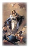 Magnificat Prayer Holy Card