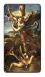 Prayer to St. Michael Holy Card Laminated