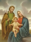Holy Family 8x10 Picture
