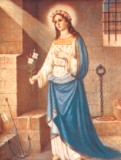 St. Philomena 8x10 Picture