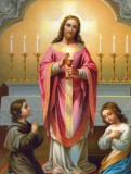 Christ Giving Communion 8x10 Picture