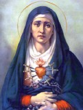 Our Lady of Sorrows - 8x10 Picture