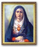 Our Lady of Sorrows - 8x10 Framed Picture