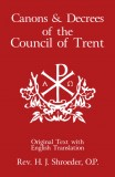 Canons and Decrees of the Council of Trent - Slightly Defective