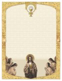 Christ Giving Communion - Notepad