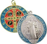 Silver or Gold St. Benedict Jubilee Medal