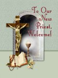 To Our New Priest, Welcome! Greeting Card