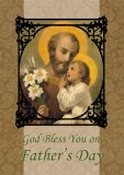 Father's Day Card - St. Joseph & Child Jesus