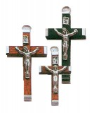 Real Wood Crucifix
