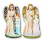 Guardian Angel with Child Figure
