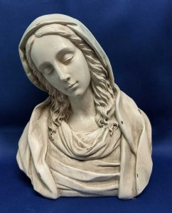 Distressed-Look Madonna Bust - Slightly Defective