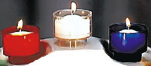 10 Hour Votive Candles in Throw-Away Plastic Container