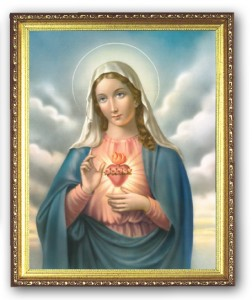Immaculate Heart 8x10 Framed Picture