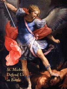 Blank St. Michael Greeting Card
