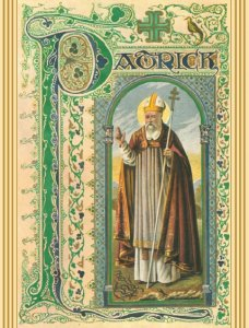 Lorica of St. Patrick Greeting Card