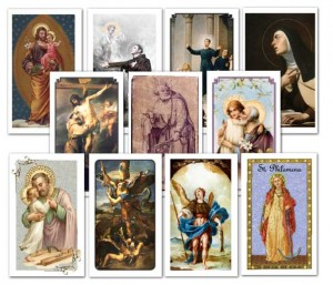 Saints Holy Card Assortment
