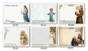 Notecards with Traditional Pictures