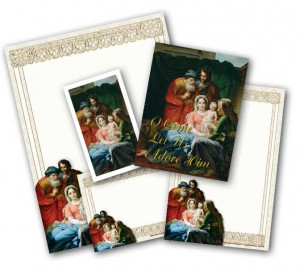 Super Deluxe Holy Family Stationery Set