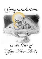 Congratulations on the Birth of your New Baby Card