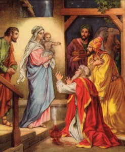 Child Jesus & the Kings Adoration