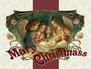 And the Word was Made Flesh - Christmas Card