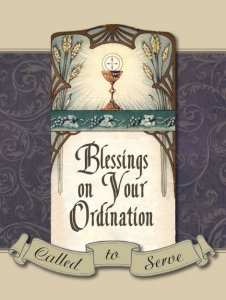 Blessings on Your Ordination - Greeting Card